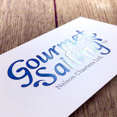 Gourmet Sailing branding by Andrea Stark