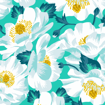 New Zealand floral patterns by Andrea Stark