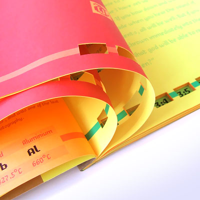 Paper Hyperlinks book design by Andrea Stark