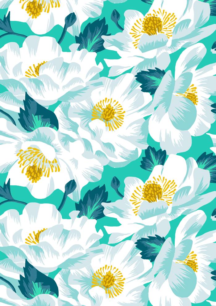 New Zealand Floral Series - Andrea Muller Design Portfolio